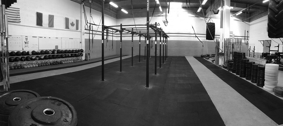 box de crossfit situé à Chavelot